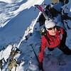 Arrête du Grand-Mont. Si le ski n'est pas bon, on aura au moins fait une belle sortie d'alpi !