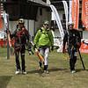 Arrivée de la Mezza à Gressoney pour les trois lascars de l'équipe de choc. Surement le plus beau souvenir de course de l'hiver.<br /> Les conditions nivo-météo étaient réunies, 2 bons copains, pas plus... Ski encordé à trois assez mythique !! De bonnes buches.