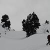 Pointe de Glais Rouge, valeur sûre de Lauzière par mauvais temps.