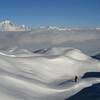 Solitude au Rognolet au dessus de la mer de nuages