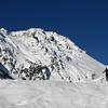 A l'assaut du Cheval Noir dans les Encombres. Secteur sauvage et bon ski garantie.