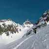Peg envoi sur les moraines du Glacier du Glézin