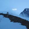 Fin mai : la classique Aiguille des Glaciers de fin de saison.<br /> Elle peut généralement s'imaginer un mois plus tard, 2015 sera une année écourtée...