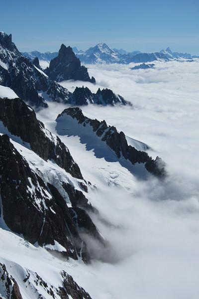 Versant italien du Mont-Blanc, Noire de Peutrey, ...