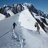 Le sommet du Dôme des Glaciers, porte vers le massif du Mont-Blanc.