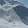 13 mars : grosses conditions sur le Grand Arc.<br /> Pointe de la Thuile.