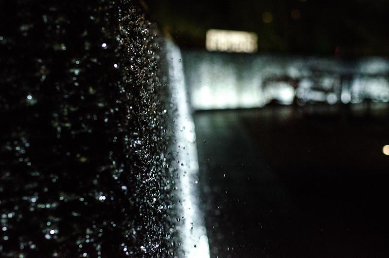 Water falling Las Vegas