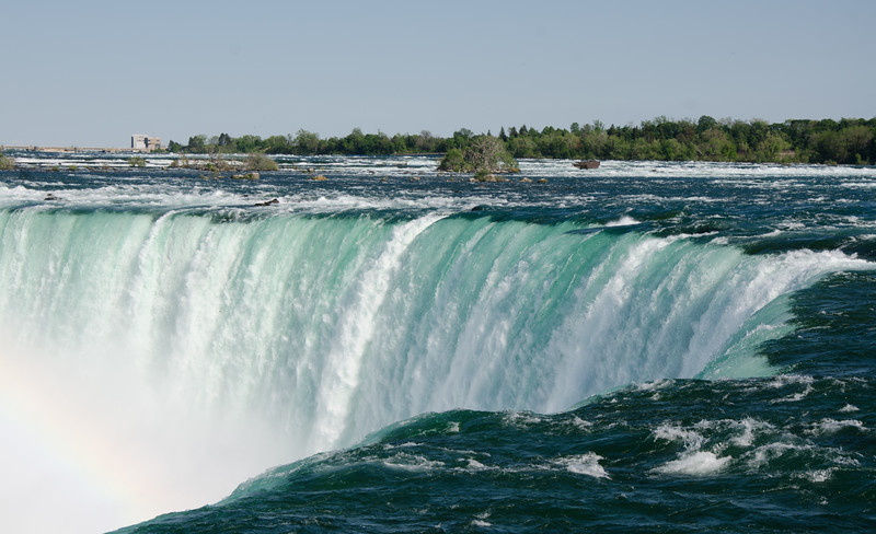 Niagara Falls at the edge