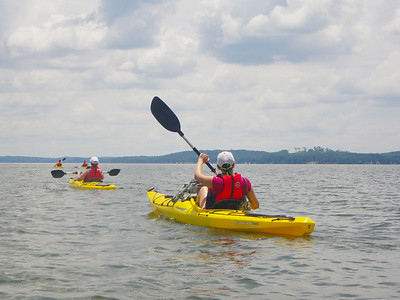 Kayaking with Outdoor Recreation