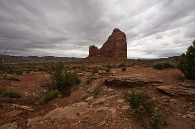 Unnamed Formation in Arches
