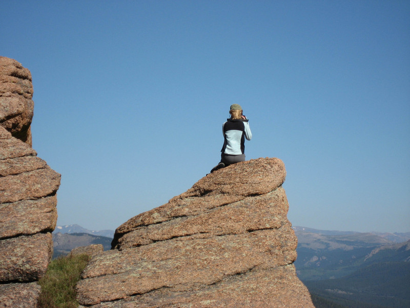 Lynn on Rock.