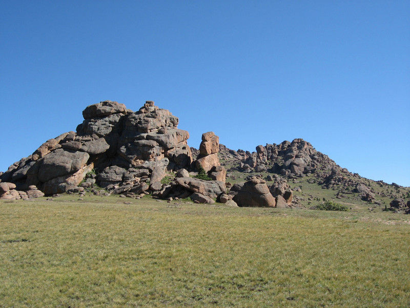 Lots of interesting rock formations up here.