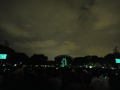The Black Eyed Peas in Central Park, Sept 30 2011