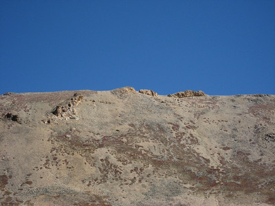 The summit of Belford from Elkhead Pass.