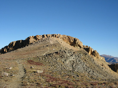 Belford's summit as we head across the southeast ridge toward the Oxford saddle.
