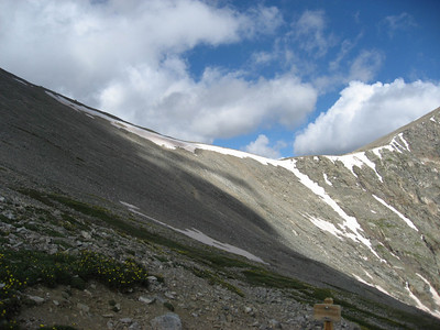 The saddle between Grays and Torreys.