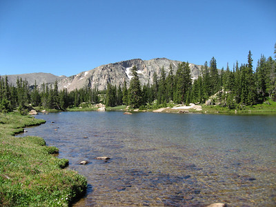 Looking back toward the south side of Lion Lake #1.