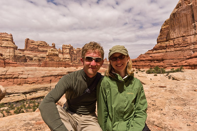 Lynn and I near Druid Arch