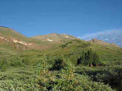 Mount Massive, our destination.