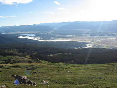 Leadville in the distance.