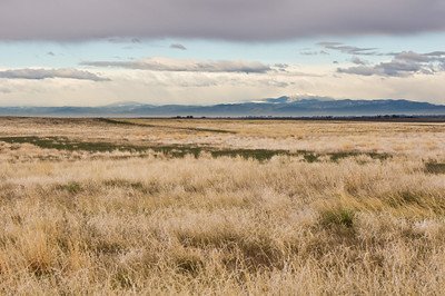 Looking westward toward the mountains. Taken with the 70-400mm instead of my wide-angle.