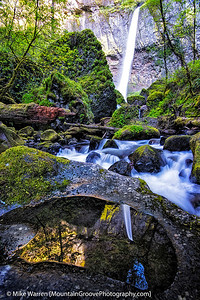 Elowah Falls, Columbia River Gorge, OR