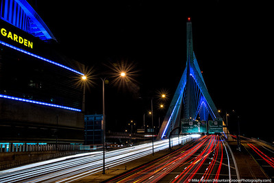 Zakim Bunker Hill bridge, Boston