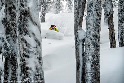 Skier, White Pass, WA