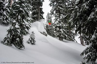Skier, Alpental, WA