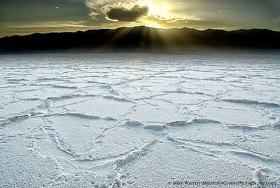 Salt Pan, Death Valley National Park, UT