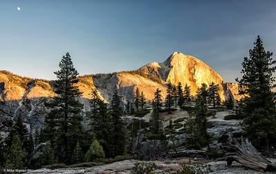 Sunset on Half Dome, YNP
