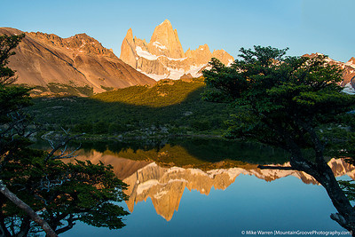 Mte. Fitzroy & Laguna Capri, Patagonia, Argentina