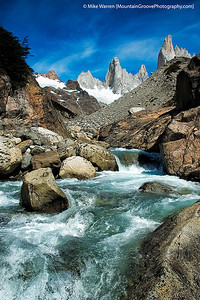 Cerro Torre viewed from Rio Fitzroy