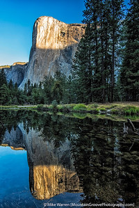 El Capitan, and Merced River, YNP