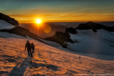 Sunrise, Whitman Glacier, Little Tahoma, MRNP