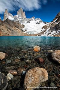 Mte. Fitzroy & Lago de los Tres, Patagonia, Argentina