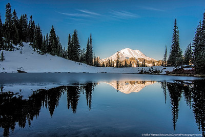 Mt. Rainier from Tipsoo Lake