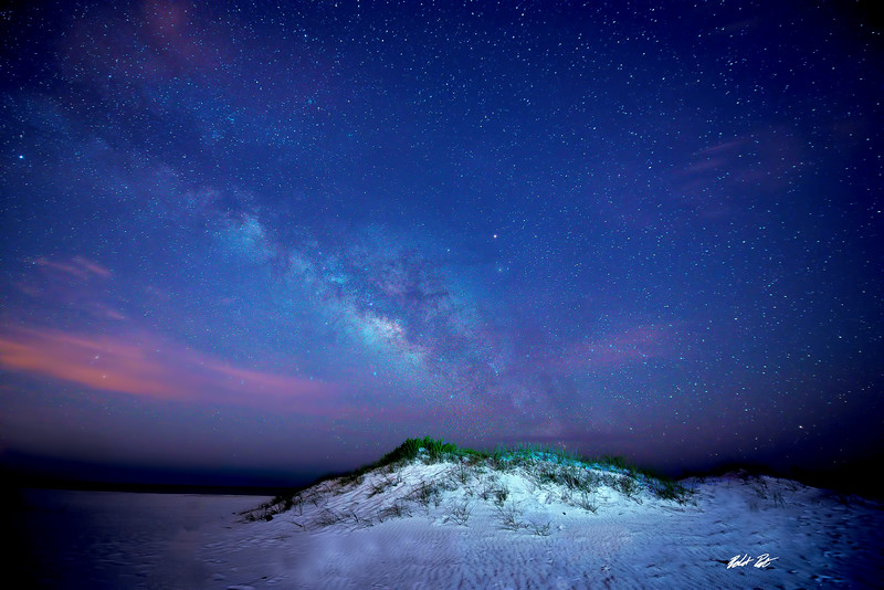 Milky Way over Navarre Beach, FL