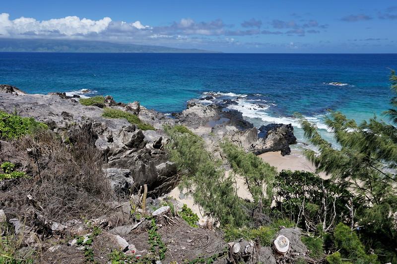 Ocean View Along Kapalua Coast