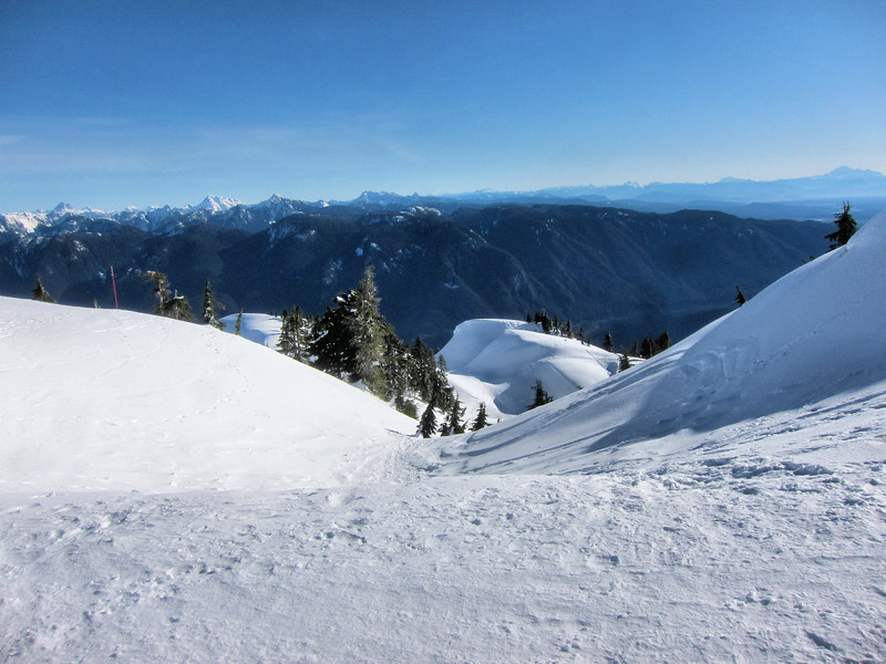 Mount Seymour in Winter