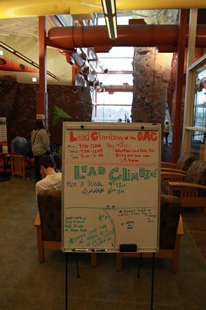 Lead Climb Clinic