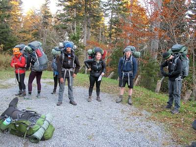 Monongahela National Forest Backpacking - Autumn 2015