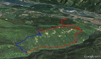 A Cedar Mt. Hamilton Creek Loop - 2015/03/29