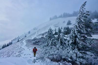 A snowy Dog Mt. - 2018/02/18