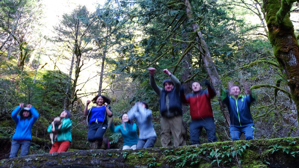 Angels Rest to Multnomah Falls - 2015/03/01
