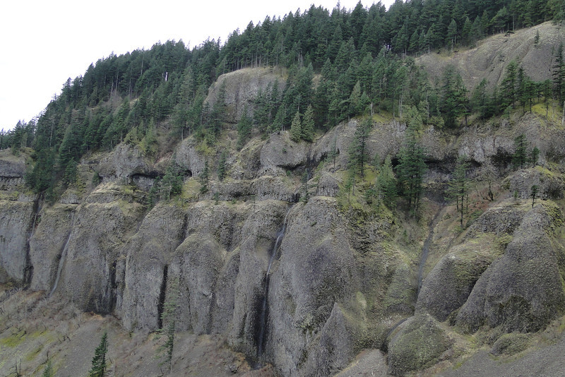 The West side cliffs from Archer Falls