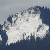 Zoomed in on Larch Mountain.