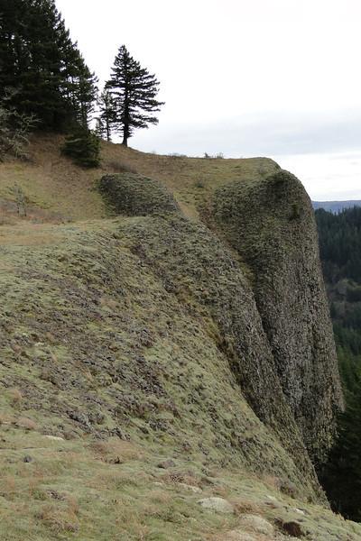 The ridge between Archer & Gable Creeks.