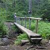 Bridge over Multnomah Creek at the Multnomah Spur trail junction.