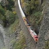 Above BNSF Rail Tunnel No.1.<br /> At 2382' the longest tunnel in the Gorge.